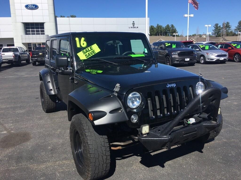 2016 Jeep Wrangler Unlimited Sport SUV