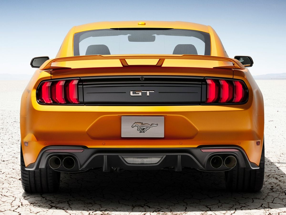 2019 ford mustang gt coupe v8 ti vct