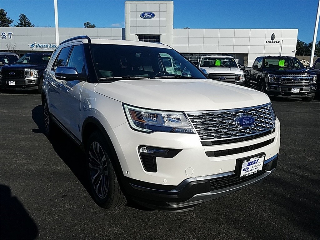 2019 Ford Explorer Platinum Sport Utility For Sale in Nashua, NH