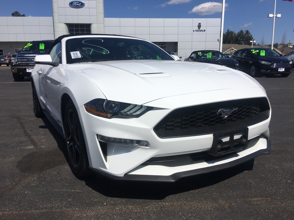 2018 ford mustang ecoboost premium convertible ecoboost i4 gtdi dohc turbocharged vct in nashua nh