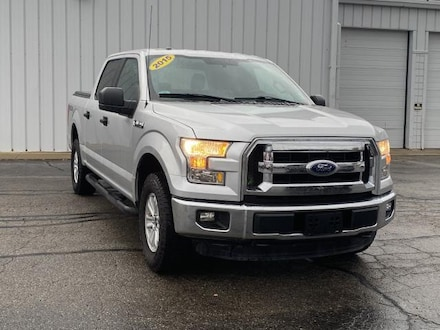 Used 2015 Ford F-150 4WD Supercrew 145 XLT Crew Cab Pickup for sale in Big Rapids, MI