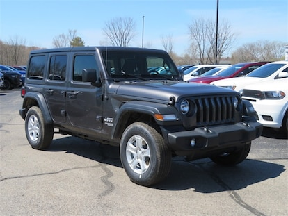 Jeep Dealership Grand Rapids Mi >> New 2019 Jeep Wrangler Unlimited Sport S 4x4 For Sale Big Rapids Mi