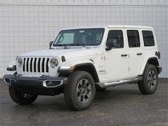 New 2018 Jeep Wrangler UNLIMITED SAHARA 4X4 Sport Utility Big Rapids, MI