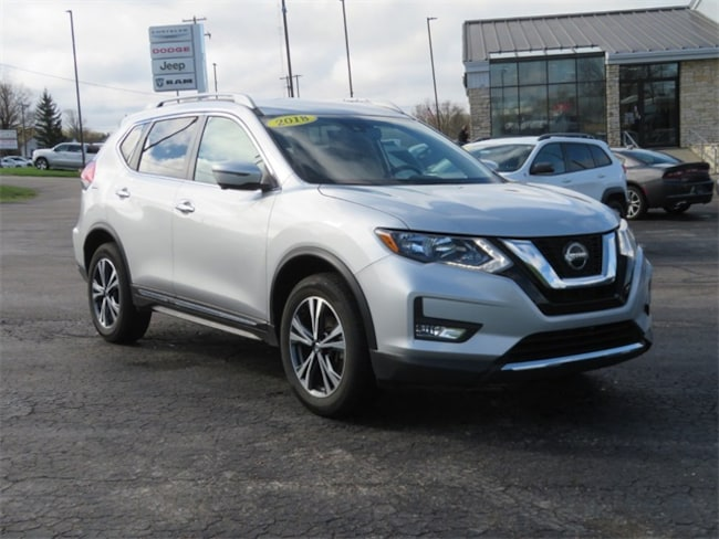 Used 2018 Nissan Rogue SL SUV Big Rapids