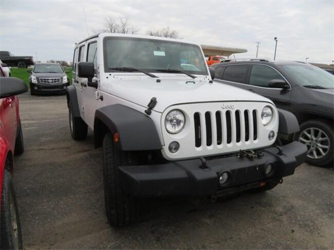 Used 2015 Jeep Wrangler Unlimited Sport SUV Big Rapids