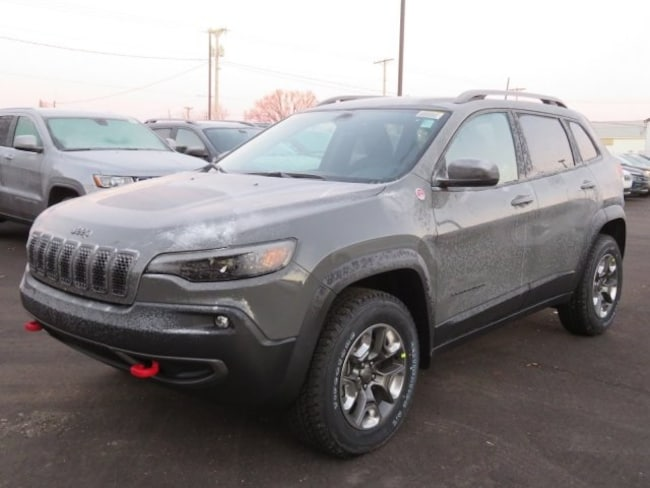 New 2019 Jeep Cherokee TRAILHAWK 4X4 For Sale/Lease ...