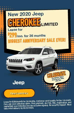 March | 2020 Jeep Cherokee Limited | Lease