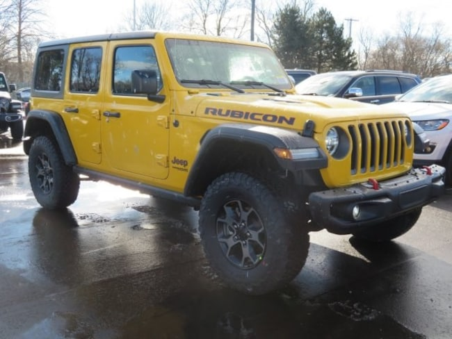 New 2019 Jeep Wrangler UNLIMITED RUBICON 4X4 Sport Utility For Sale/Lease Lowell, MI