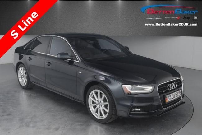used 2014 Audi A4 2.0T Premium Plus Sedan for sale lowell, MI