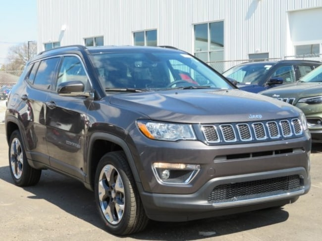 New 2019 Jeep Compass LIMITED 4X4 Sport Utility For Sale/Lease Lowell, MI