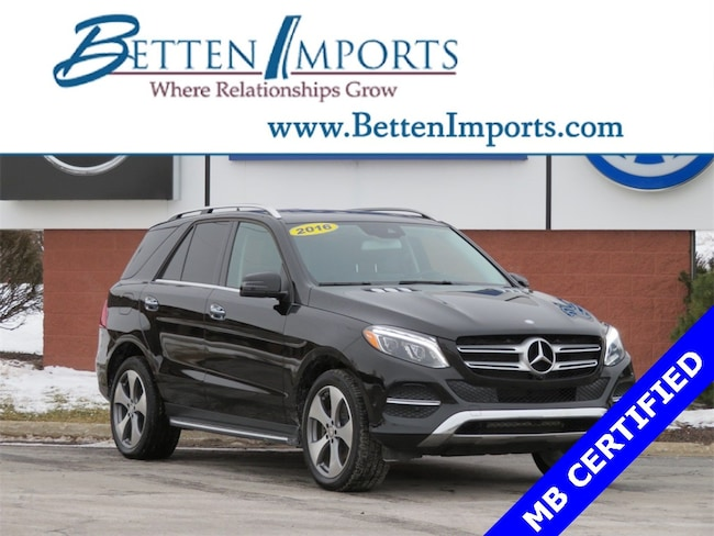 Certified 2016 Mercedes-Benz GLE GLE 350 4matic® SUV Grand Rapids