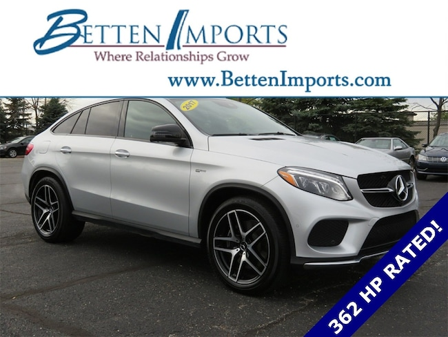 Certified 2017 Mercedes-Benz GLE GLE 43 AMG® Coupe 4matic® SUV Grand Rapids