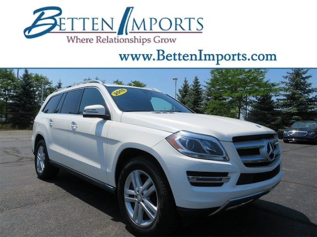 Certified 2015 Mercedes-Benz GL-Class GL 450 4matic® SUV Grand Rapids