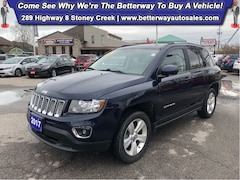 Used 2017 Jeep Compass High Altitude Edition  Leather  4X4  Sunroof SUV in Hamilton, ON