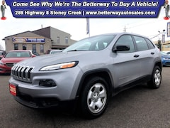 Used 2015 Jeep Cherokee Sport| B-Tooth| Keyless Ent| PWR Options SUV in Hamilton, ON