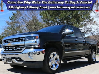 Used 2017 Chevrolet Silverado 1500 LTZ w/1LZ| 4X4| Navi| Backup Cam| Loaded! Truck Double Cab for sale in Stoney Creek, ON at Betterway Sales & Leasing
