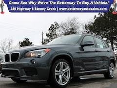 Certified 2014 BMW X1 xDrive28i| M Sport PKG| Nappa Red Leather| Sunroof Wagon in Hamilton, ON
