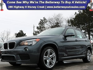2014 BMW X1 xDrive28i| M Sport PKG| Nappa Red Leather| Sunroof