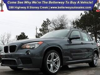2014 BMW X1 xDrive28i| M Sport PKG| Nappa Red Leather| Sunroof Wagon