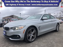 Certified 2014 BMW 4 Series 428i xDrive| AWD| Navi| Backup Cam| Heat Seat Coupe in Hamilton, ON