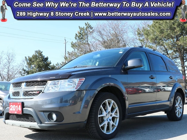 Certified Used 2014 Dodge Journey SXT| Backup Cam| Heat Seat & Steer| Remote Start SUV near Hamilton