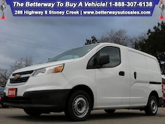 Certified 2015 Chevrolet City Express LT| B-Tooth| Keyless Ent| Dream Work Vehicle! Cargo in Hamilton, ON