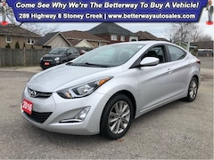 Used 2016 Hyundai Elantra GL Sport|Sunroof |B-Tooth |Heat Seat| Backup Cam Sedan in Hamilton, ON
