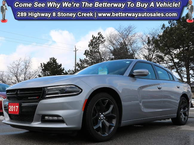 Certified Used 2017 Dodge Charger SXT |Sunroof |Backup Cam |Heat Seats |Navi | Sedan near Hamilton