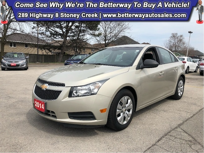 2014 Chevrolet Cruze 2LS| Keyless Ent| B-Tooth| PWR Options Sedan DYNAMIC_PREF_LABEL_AUTO_CERTIFIED_USED_DETAILS_INVENTORY_DETAIL1_ALTATTRIBUTEAFTER