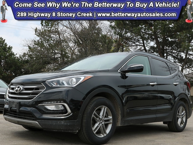 Certified Used 2018 Hyundai Santa Fe Sport SE| Leather| Pano Roof| Navi| Backup Cam| Loaded! SUV near Hamilton