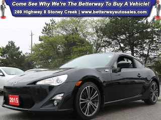 2015 Scion FR-S 6 Speed Manual| RWD| Bluetooth| Keyless Entry Coupe