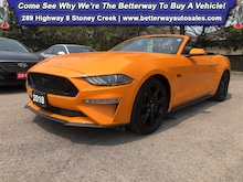 2018 Ford Mustang GT Premium| Navi| Backup Cam| Heat Vent Seat Coupe
