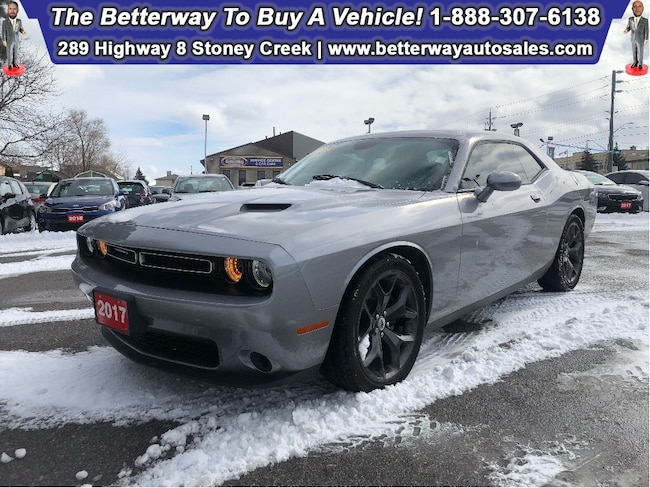 Certified Used 2017 Dodge Challenger SXT|Custom Leather|Sunroof|Back up cam|20' Wheels Coupe near Hamilton