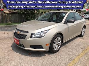 2014 Chevrolet Cruze 2LS| Keyless Ent| B-Tooth| PWR Options