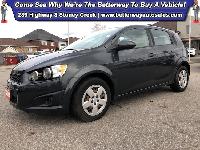 Certified Used 2014 Chevrolet Sonic LS Auto| Keyless Ent| Gas Saver Hatchback near Hamilton