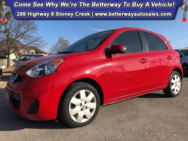 Certified Used 2015 Nissan Micra S| B-Tooth| Keyless Ent| Gas Saver! Compact near Hamilton