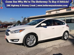 Used 2016 Ford Focus Titanium| Backup Cam| Navi| Bluetooth| Sunroof Hatchback in Hamilton, ON