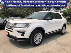 Certified 2018 Ford Explorer XLT  AWD  Navi  Backup Cam  Leather  Sunroof SUV in Hamilton, ON