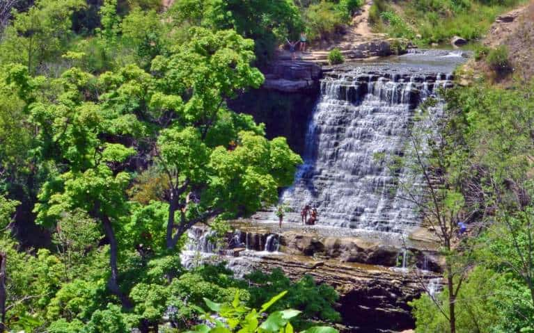 Go visit the albion falls in hamilton, one of the best things to do while you are in Hamilton, ON