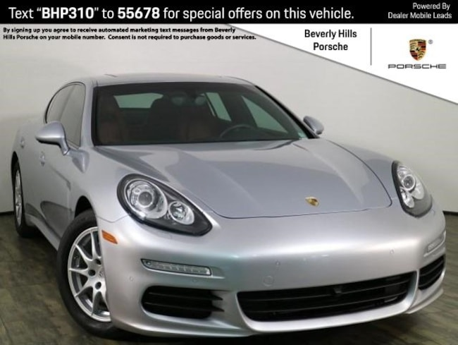 Certified Pre-Owned 2015 Porsche Panamera 2 Hatchback For Sale in Los Angeles, CA