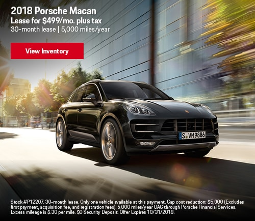 Porsche lease specials los angeles