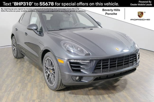 New 2018 Porsche Macan Sport Edition SUV For Sale in Los Angeles, CA