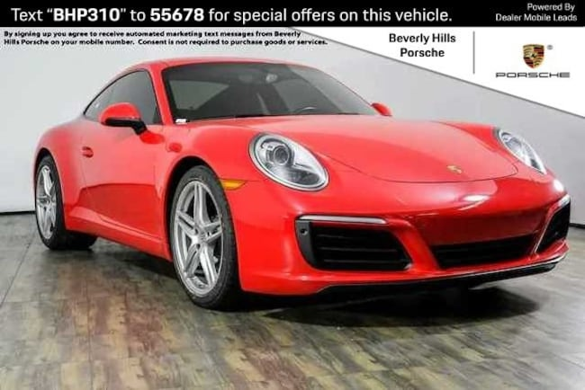 Pre-Owned 2017 Porsche 911 Carrera Coupe For Sale in Los Angeles, CA