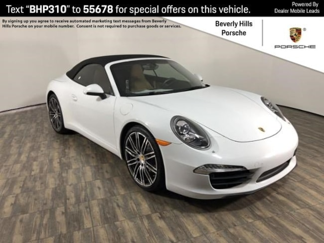 Pre-Owned 2016 Porsche 911 Carrera Cabriolet For Sale in Los Angeles, CA