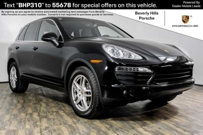 Certified Pre-Owned 2014 Porsche Cayenne V6 SUV For Sale in Los Angeles, CA
