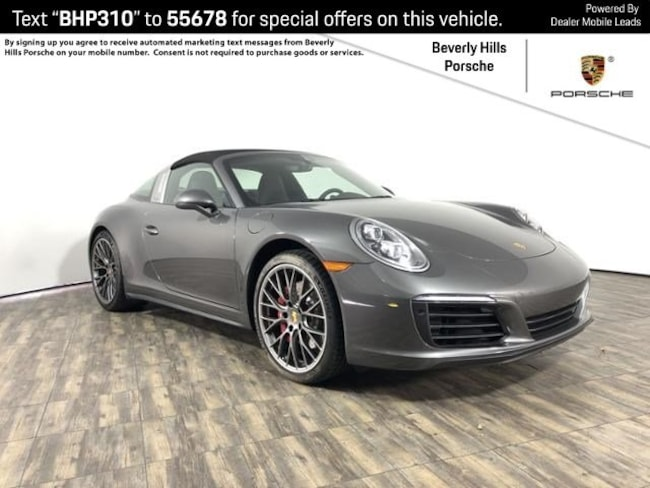 Pre-Owned 2019 Porsche 911 Targa 4S Coupe For Sale in Los Angeles, CA