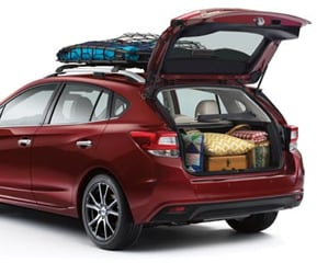 SPACIOUS CARGO AREA AND WIDE REAR