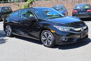 Used 2018 Honda Civic EX-L Coupe 2HGFC3B74JH356673 for sale in Alexandria, VA