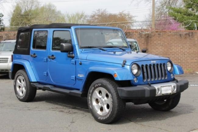 Used 2015 Jeep Wrangler Unlimited Sahara SUV 1C4BJWEG6FL531077 in Alexandria, VA