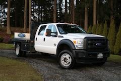 2015 Ford Super Duty F-550 DRW 4WD Crew Cab FLATBED